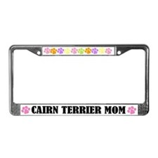 Cairn Terrier Mom License Plate Frame