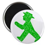 "Berlin ""Go"" Sign 2.25"" Magnet (100"