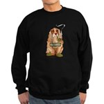 Retired Dog Sweatshirt (dark)