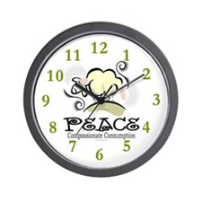 Animal Compassion Wall Clock