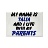 my name is talia and I live with my parents Rectan