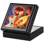 Mandolin / Scottie (w) Keepsake Box