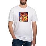Mandolin / Scottie (w) Fitted T-Shirt