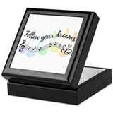 Follow Your Dreams Keepsake Box