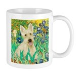 Irises / Scottie (w) Mug