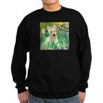 Irises / Scottie (w) Sweatshirt (dark)