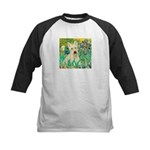 Irises / Scottie (w) Kids Baseball Jersey