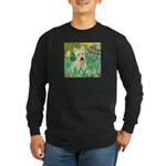 Irises / Scottie (w) Long Sleeve Dark T-Shirt