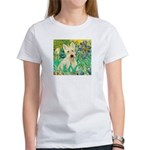 Irises / Scottie (w) Women's T-Shirt