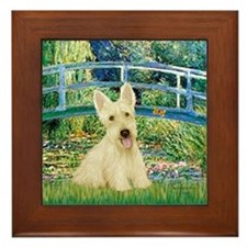 Bridge / Scottie (w) Framed Tile