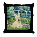Bridge / Scottie (w) Throw Pillow