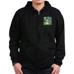 Bridge / Scottie (w) Zip Hoodie (dark)