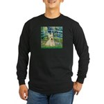 Bridge / Scottie (w) Long Sleeve Dark T-Shirt