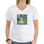 Bridge / Scottie (w) Women's V-Neck T-Shirt