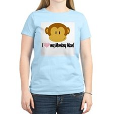 I love my Monkey Man! T-Shirt