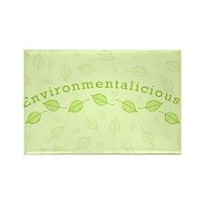 Environmentalicious Rectangle Magnet