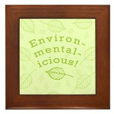 Environmentalicious Framed Tile
