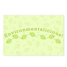 Environmentalicious Postcards (Package of 8)