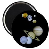 Solar System Montage Magnet