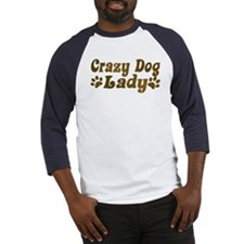 Crazy Dog Lady Baseball Jersey