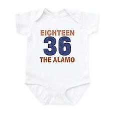 """Alamo Flag"" Infant Bodysuit"
