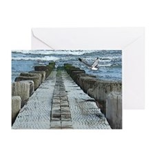 """The Jetty"" Greeting Card"