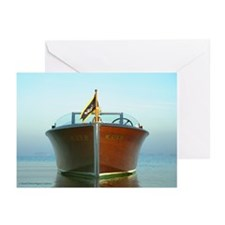 Antique Boat 327-83 Greeting Cards (Pkg. of 6)