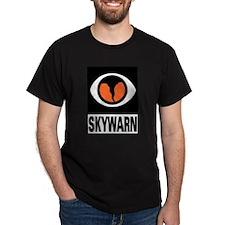 Skywarn Black T-Shirt