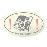 FRENCHIE Revolution! French Bulldog car Decal