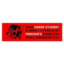FRENCHIE Revolution! Bumper Bumper Sticker
