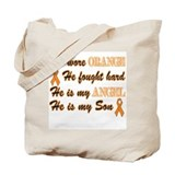 He is my Son Orange Angel Tote Bag