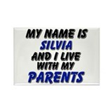 my name is silvia and I live with my parents Recta