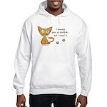 Cute Kitty Ate Your Cookie Hooded Sweatshirt