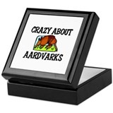 Crazy About Aardvarks Keepsake Box