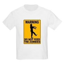 Do Not Feed the Zombies T-Shirt