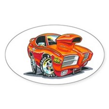 GTO Judge Oval Decal
