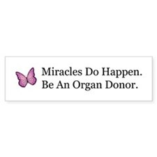 Organ Donation Awareness Bumper Bumper Sticker