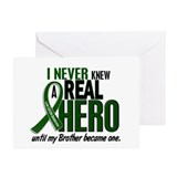 REAL HERO 2 Brother LiC Greeting Cards (Pk of 10)