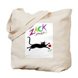 """Jumping Zack"" Tote Bag"