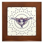 Angel : Stars : Framed Tile