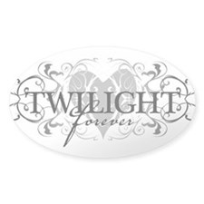 Twilight Forever Oval Decal