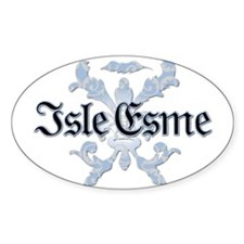 Twilight Isle Esme Oval Decal