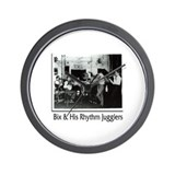 Bix Beiderbecke & His Rhythm Jugglers Wall Clock