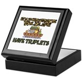 Experience WIldlife Have Triplets Keepsake Box