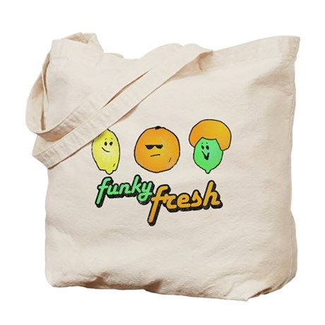 Funky Fresh Tote Bag