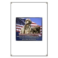Thomas Jefferson quotes Banner