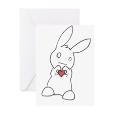 Cool Heart Greeting Card