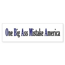Obama Mistake Bumper Bumper Sticker
