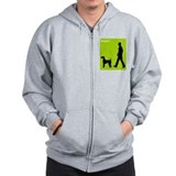 Airedale Terrier Zip Hoody