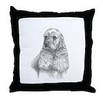 Cocker Spaniel Throw Pillow